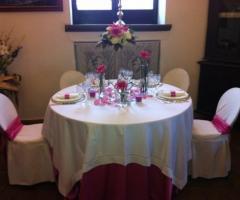 Villa del Vecchio Pozzo - Tavolo degli sposi