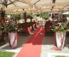 Celebrazione delle nozze a Tenuta Astroni (Napoli)