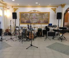 Metamorphosis Wedding Band - Postazione in sala