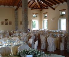 Villa Fabio - Allestimento della sala interna