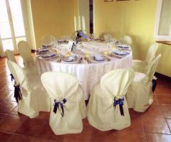 Villa Fabio - Dettagli della tavola degli ospiti