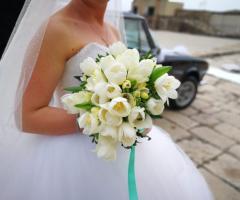 Luisa Mascolino Wedding Planner Sicilia - Il bouquet  in bianco