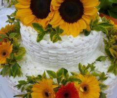 Masseria del Gelso Antico - Torta con girasoli