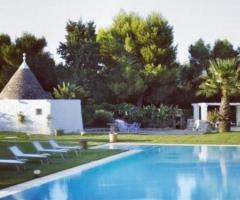 Villa Cenci - Gli ampi spazi esterni