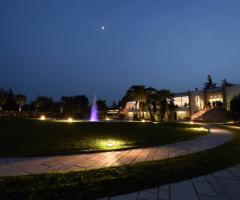 Murgia Garden Ricevimenti - Vista di sera