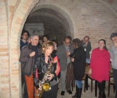 Sax Blond Letizia Brunetti - Dal vivo con la gente