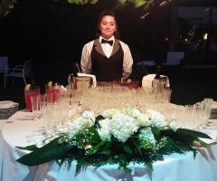 Masseria Montepaolo - Il tavolo degli aperitivi