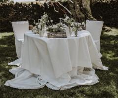 Tenuta Monacelli - Il tavolo degli sposi