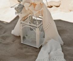 Daniela Gristina - Sciarpa con dettagli ricamati per la sposa