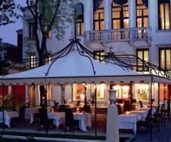 Grand Hotel dei Dogi - Gazebo per il ricevimento di nozze all'aperto
