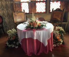 Bang Bang Wedding - Dettaglio del tavolo degli sposi