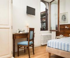 Il giardino di Villa Lina - Le stanze della villa