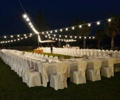 Masseria Eccellenza -  Il ricevimento di nozze di sera