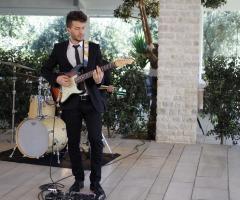 Novilunio Band - Il chitarrista durante un matrimonio