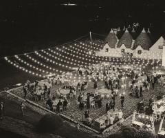Masseria Luco - Dall'alto di sera