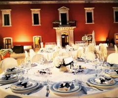 Masseria Cariello Nuovo - I tavoli degli ospiti
