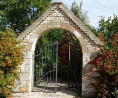 Masseria del Gelso Antico - Il cancello di ingresso