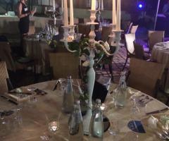 Emozioni Wedding Planner - Allestimento ai tavoli