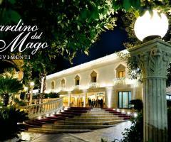 Entrata della location di nozze
