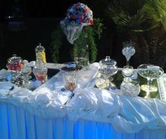 Il tavolo della confettata