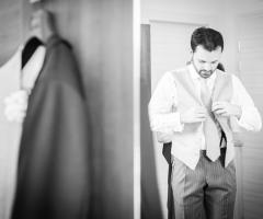 Dario Imparato Foto - Lo sposo si prepara