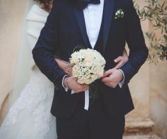 Francesco Caroli - Gli sposi e il bouquet