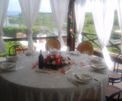 Borgo La Fratta - Il tavolo degli ospiti