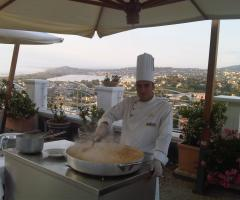 Show cooking al matrimonio