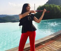 Gruppo Taeda Band per matrimoni - Il violino live