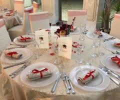 Oasi  Quattro Colonne - Il tavolo degli invitati