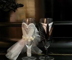 Bang Bang Wedding - Calici per il brindisi personalizzati
