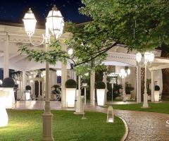 Lo Smeraldo Ricevimenti - Il gazebo glamour