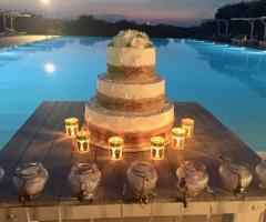 Casale del Murgese - La torta nuziale