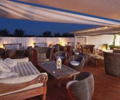Lounge della location per matrimoni