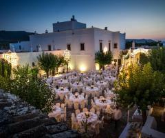 Masseria Montalbano - Il matrimonio di sera