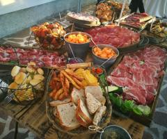 La Piccola Officina dei Grandi Eventi - Il buffet degli antipasti