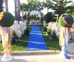 Cerimonia di matrimonio in giardino - Masseria Grottella