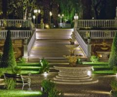 Lo Smeraldo Ricevimenti - La scalinata