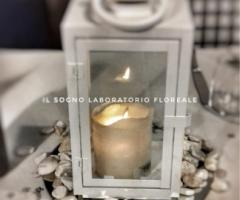 Il Sogno - Laboratorio Floreale - Porta candela decorativo