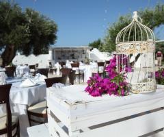 Casale del Murgese - Il ricevimento di nozze all'aperto