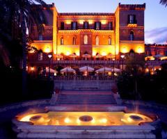 Villa Igiea di notte