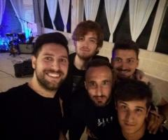 Why Not Band - Un selfie durante una pausa