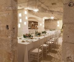 Masseria San Nicola - La suggestiva sala interna