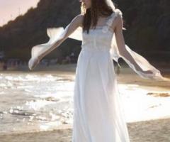 Daniela Gristina - Vestito da sposa con veli