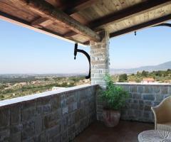 Vista dalla veranda di Torre in Pietra