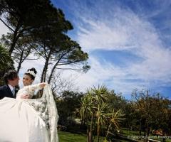 Borgo Ducale Brindisi - Gli sposi nei giardini