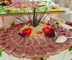 Particolare del buffet dell\'antipasto per le nozze