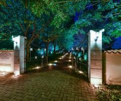 Cascina dal Pozzo - Il cancello di ingresso