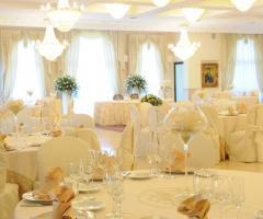 Mise en place elegante per il matrimonio