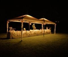 Villa Aretusi - Ricevimento di nozze di sera